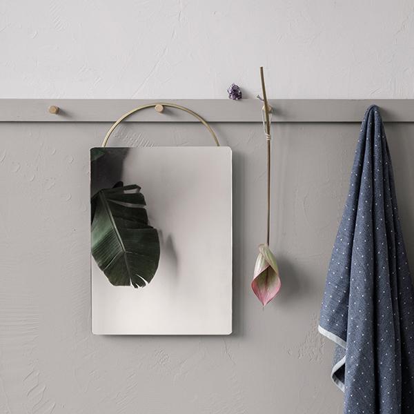 Ferm living specchio adorn piccolo finnish design shop for Specchio da parete piccolo