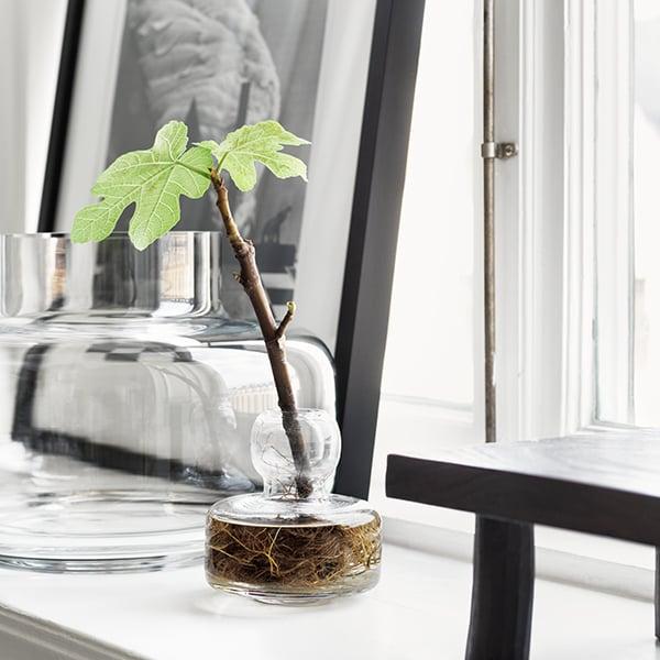 Marimekko Flower Vase Clear Finnish Design Shop