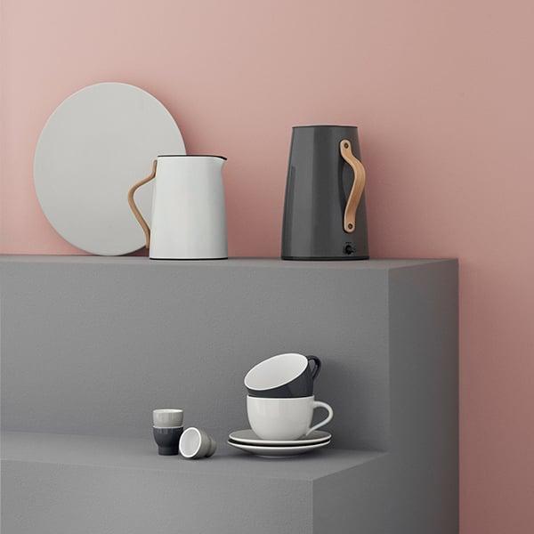 stelton emma vacuum jug dark grey finnish design shop
