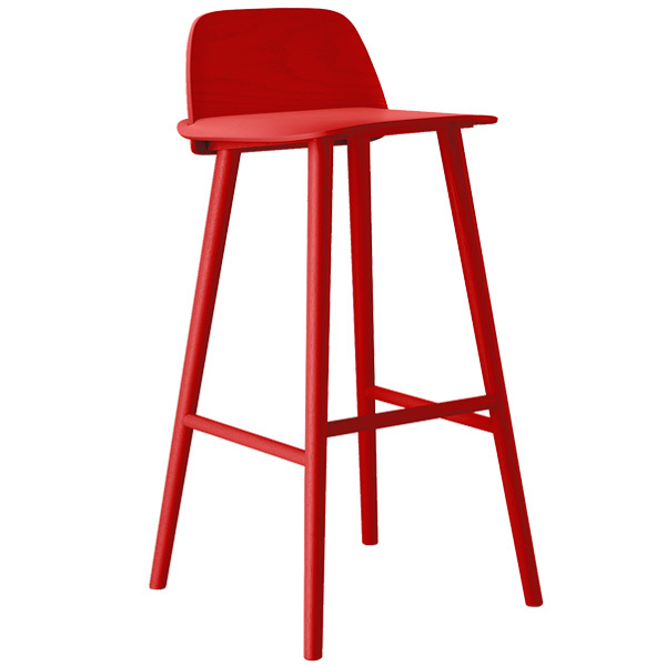 Muuto Nerd Bar Stool High Finnish Design Shop