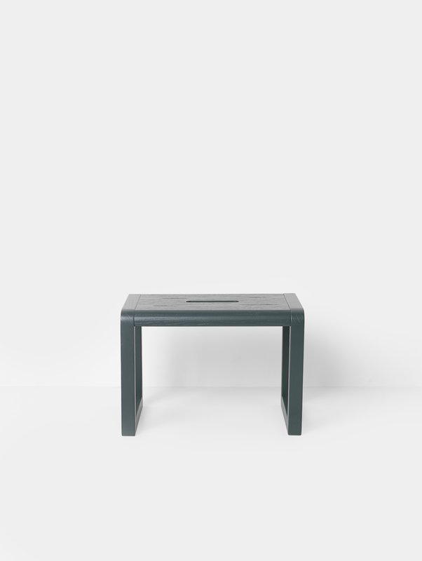 Miraculous Little Architect Stool Dark Green Machost Co Dining Chair Design Ideas Machostcouk