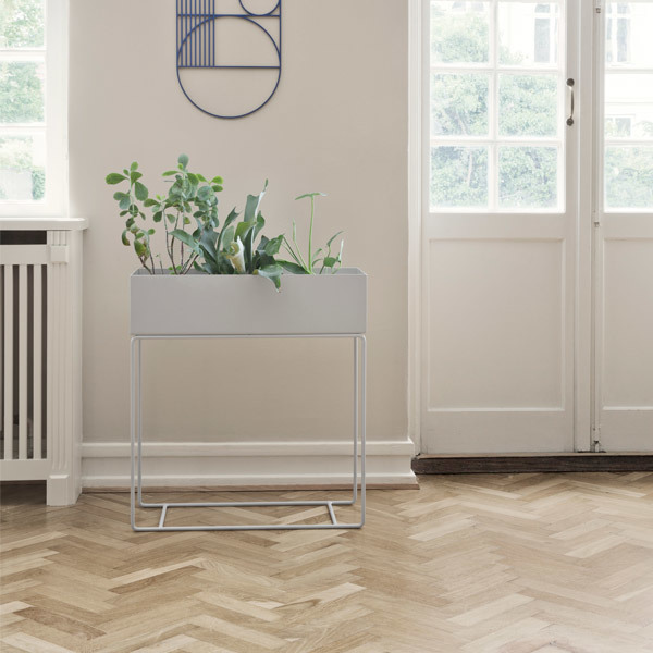 Ferm Living Plant Box Grigio Finnish Design Shop