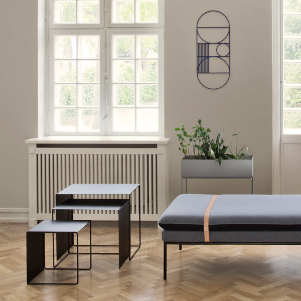 ferm living plant box musta finnish design shop. Black Bedroom Furniture Sets. Home Design Ideas