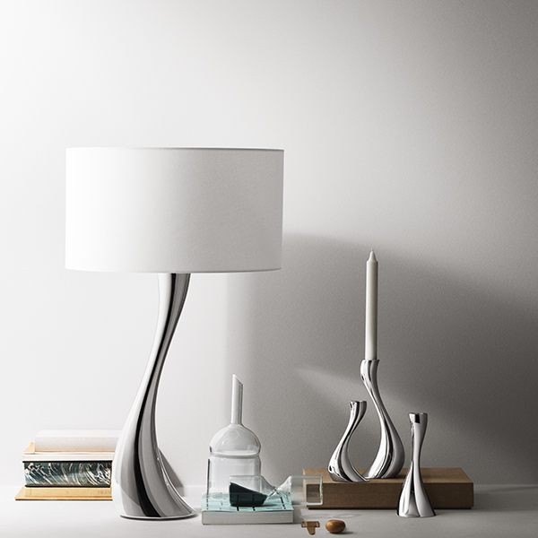 Georg Jensen Cobra Table Lamp Small White