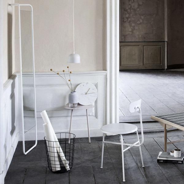 Menu Kaschkasch floor mirror, white | Finnish Design Shop