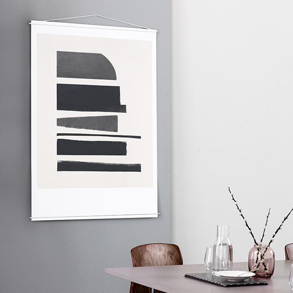 Moebe cornice per poster bianca finnish design shop for Cornice poster 61x91