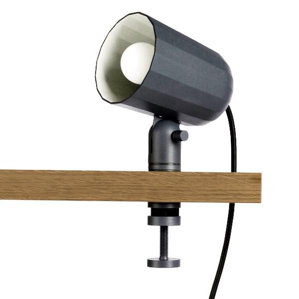 Noc Clip Lamp Dark Grey