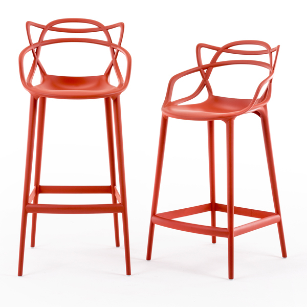 Kartell Sgabello Masters, grigio | Finnish Design Shop
