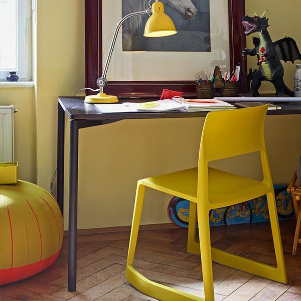 Vitra Tip Ton Chair Mustard