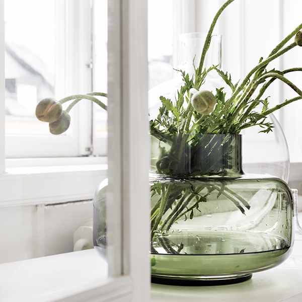 Marimekko Urna Vase Olive Finnish Design Shop
