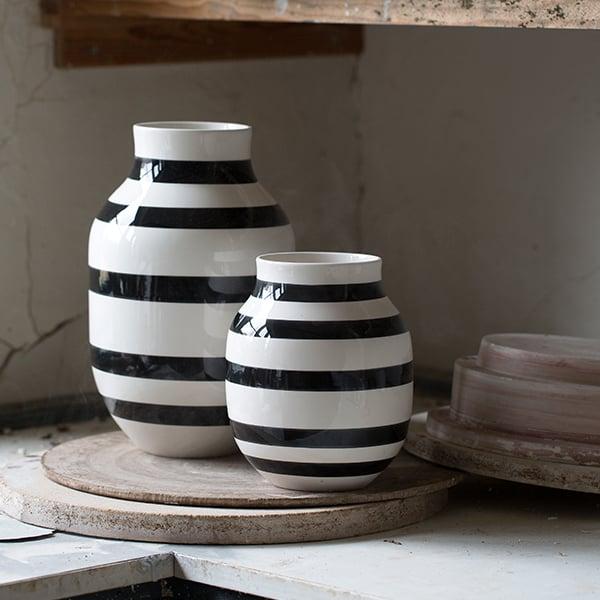 Khler Omaggio Vase Large Black Finnish Design Shop
