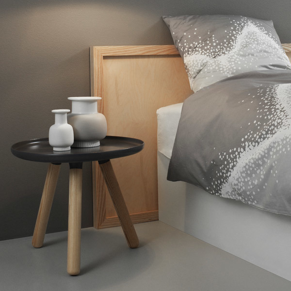 normann copenhagen tablo table small grey finnish design shop. Black Bedroom Furniture Sets. Home Design Ideas
