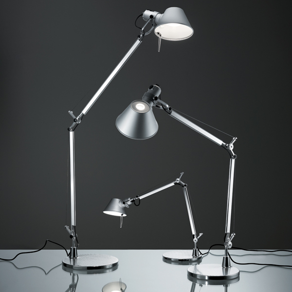 artemide tolomeo micro led table lamp aluminium finnish. Black Bedroom Furniture Sets. Home Design Ideas