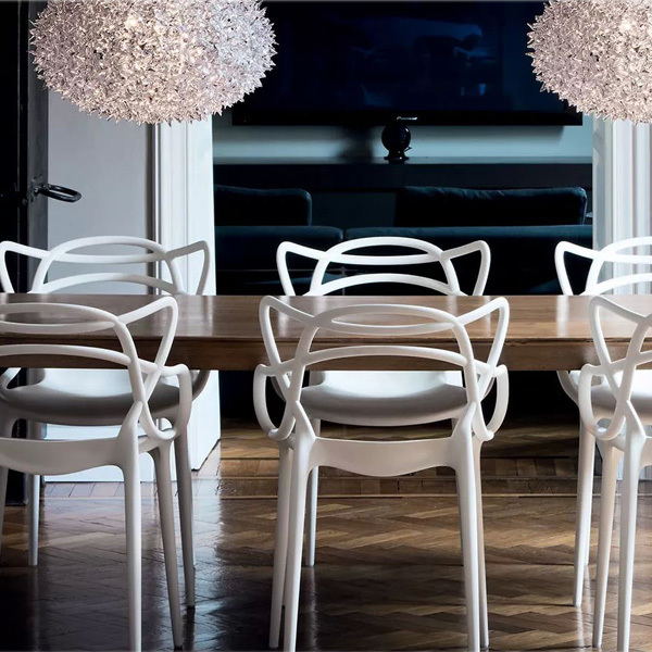 Kartell Sedia Masters, bianca | Finnish Design Shop
