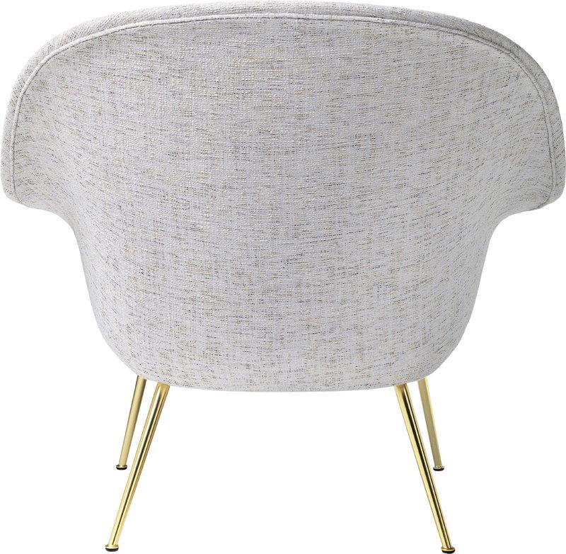 Gubi Bat Lounge Chair Low Sonar 3 124 Brass Base