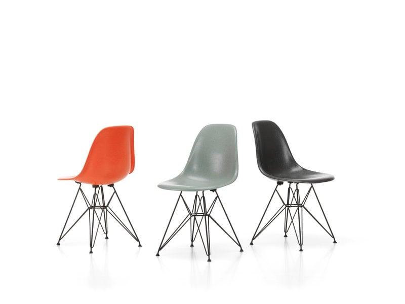 Vitra Eames Dsr Fiberglass Chair Sea, Eames Side Chair Fiberglass