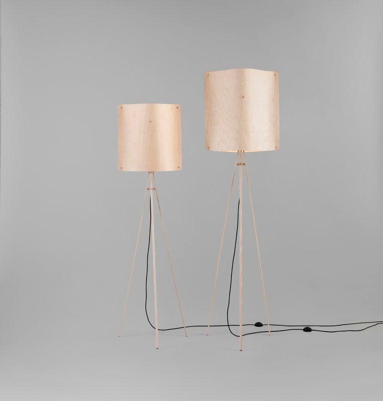 Finom Square Floor Lamp, Small
