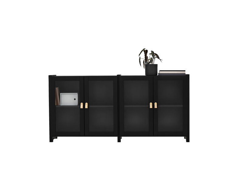 Lundia mobiletto moments basso nero finnish design shop for Mobiletto design