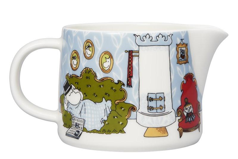 Moomin Acrylic Glass Pitcher Moomin Troll Snorkmaiden 1 L Martinex