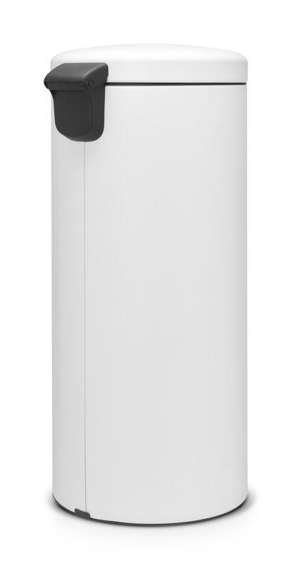 Brabantia Newicon Pedal Bin 30 L Sense Of Luxury White
