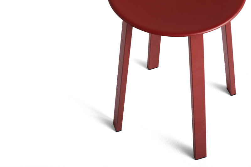 Hay Revolver Stool Red Finnish Design Shop