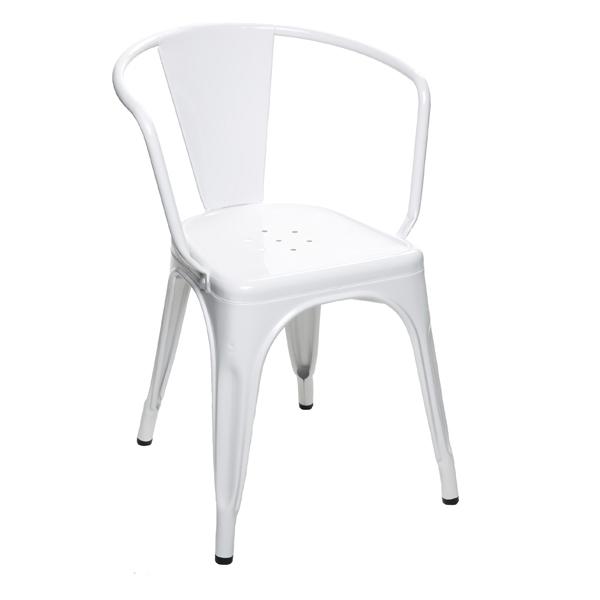 Tolix A56 Chair, White