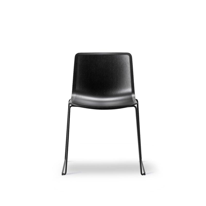 Pato tuoli, kelkkajalka, musta