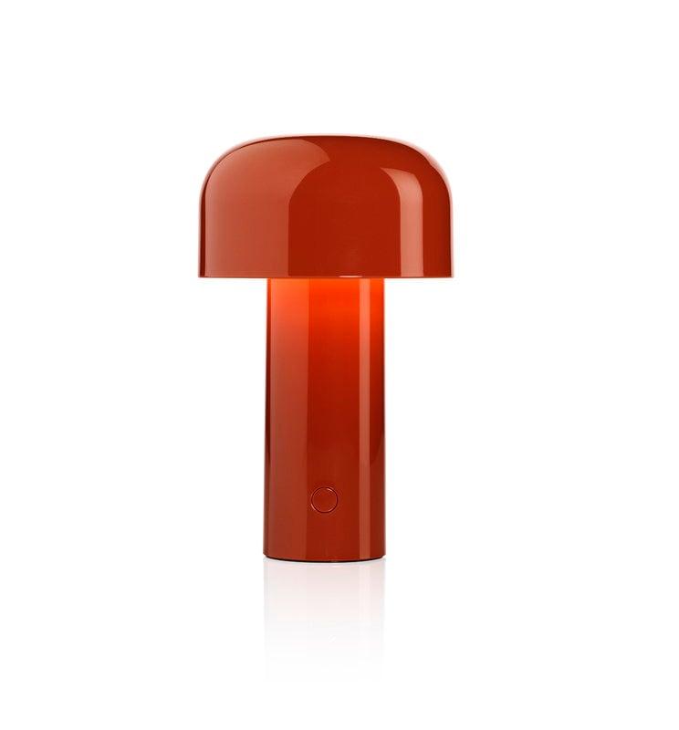 Flos Bellhop table lamp, brick red | Finnish Design Shop