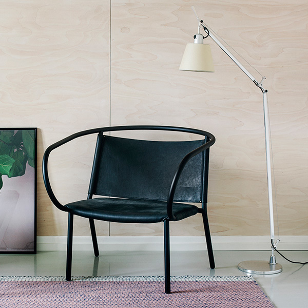 artemide tolomeo basculante lettura floor lamp parchment. Black Bedroom Furniture Sets. Home Design Ideas