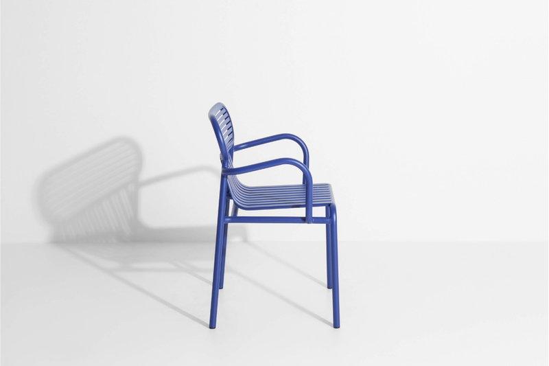 Sedie Blu Elettrico : Petite friture sedia week end con braccioli blu finnish design shop