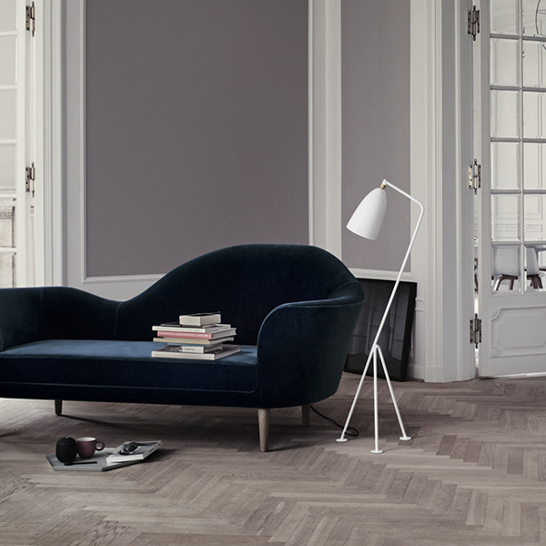Floor Lamp White Finnish Design