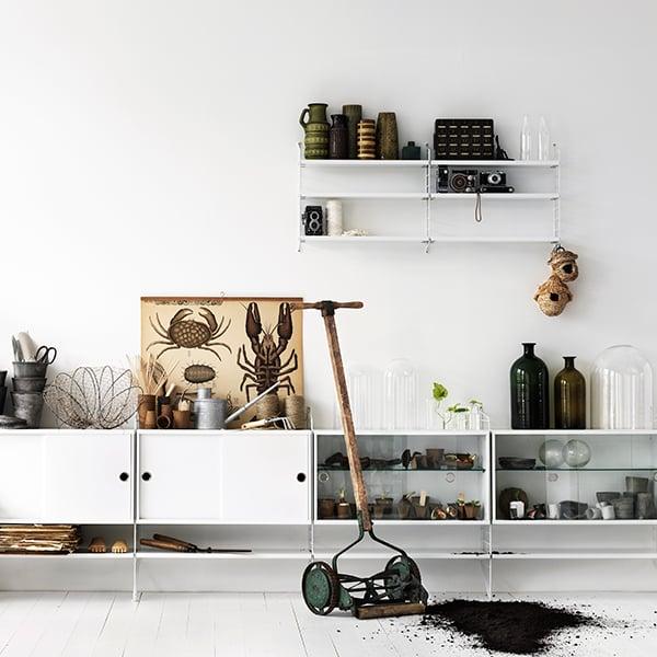 string string floor panel 85 x 30 cm 1 pack white. Black Bedroom Furniture Sets. Home Design Ideas