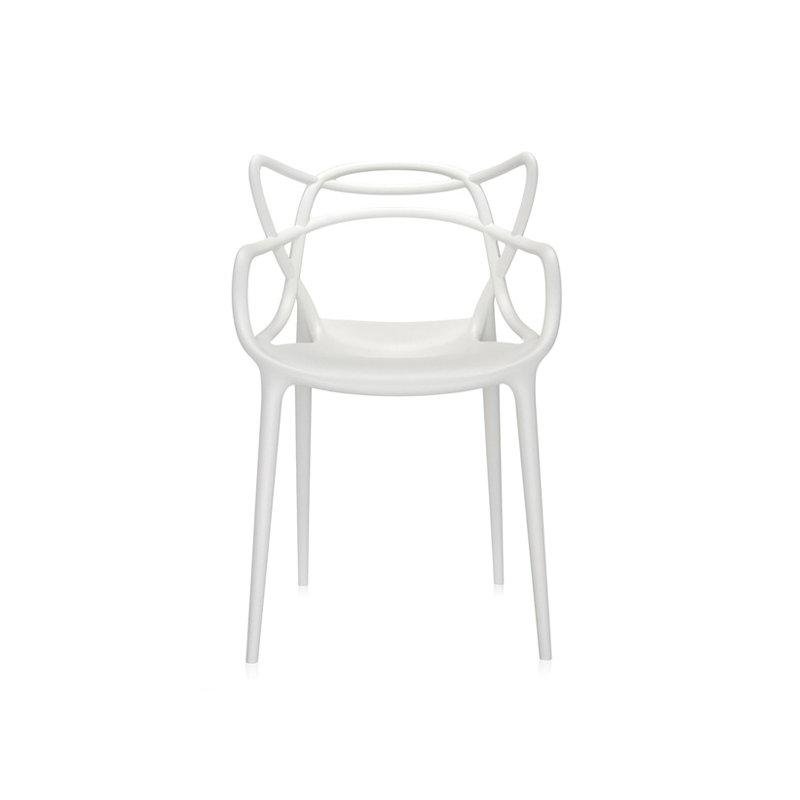 Kartell sedia masters bianca finnish design shop - Sedia masters kartell ...