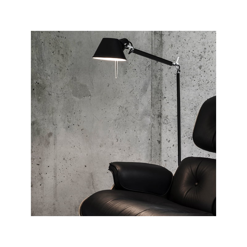 Artemide Tolomeo Lettura floor lamp, aluminium | Finnish Design Shop