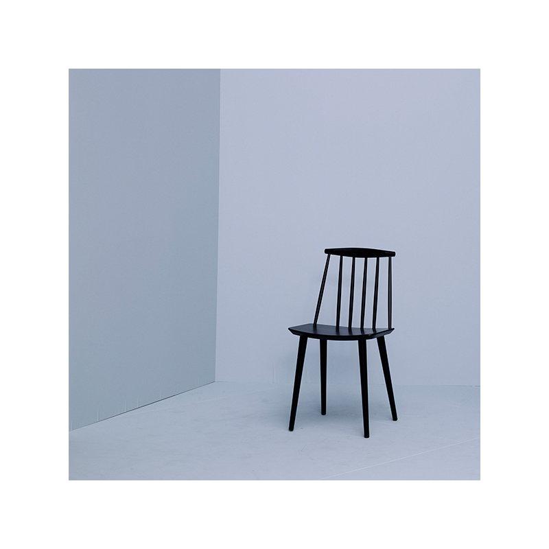 hay j77 chair black finnish design shop. Black Bedroom Furniture Sets. Home Design Ideas