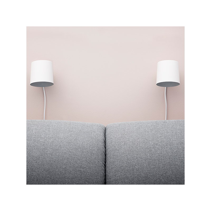 Normann Copenhagen Rise wall lamp, black | Finnish Design Shop