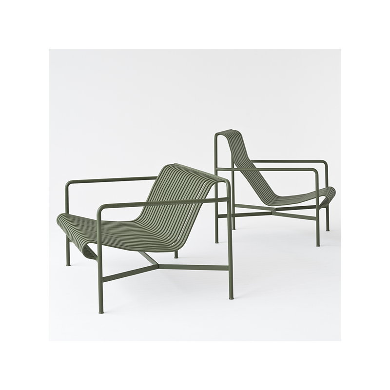 hay palissade lounge chair high olive finnish design shop. Black Bedroom Furniture Sets. Home Design Ideas