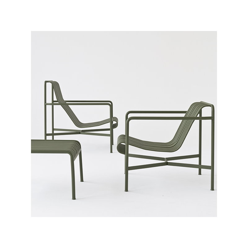 Awesome Hay Palissade Lounge Chair Low Anthracite Finnish Design Alphanode Cool Chair Designs And Ideas Alphanodeonline