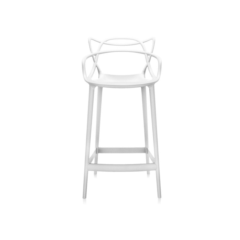 Kartell sgabello masters bianco finnish design shop for Sgabelli kartell outlet