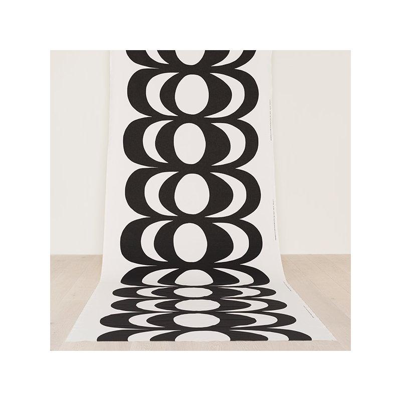 Musta Kangas Olkalaukku : Marimekko kaivo kangas valko musta finnish design