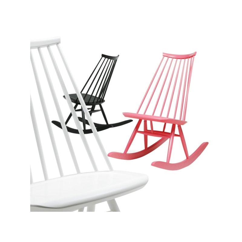 Artek sedia a dondolo mademoiselle nera finnish design shop - Sedia a dondolo design ...