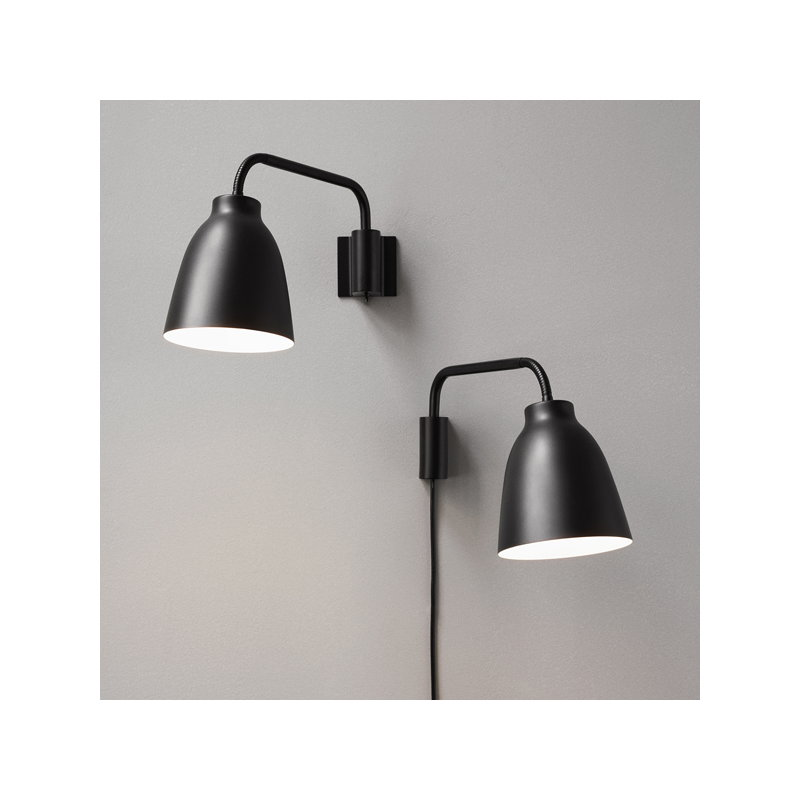 Lightyears Caravaggio Read wall l& matt black  sc 1 st  Finnish Design Shop & Lightyears Caravaggio Read wall lamp matt black | Finnish Design Shop azcodes.com