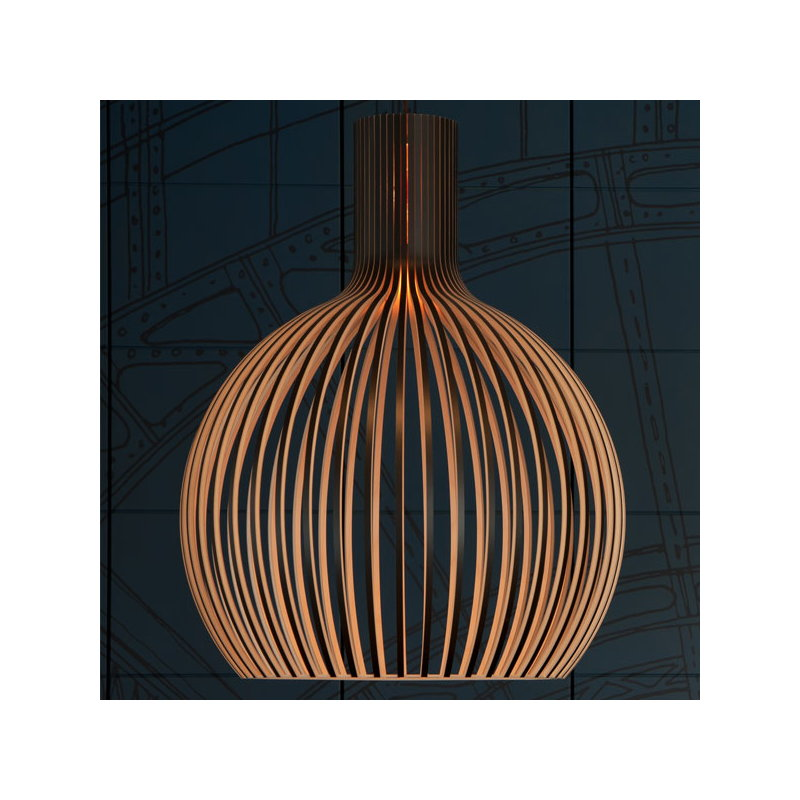 Secto design lampada octo 4240 nera finnish design shop for Saldi lampade design