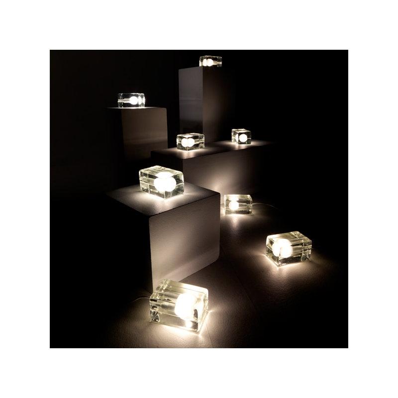Design House Stockholm Block Lamp, white cord