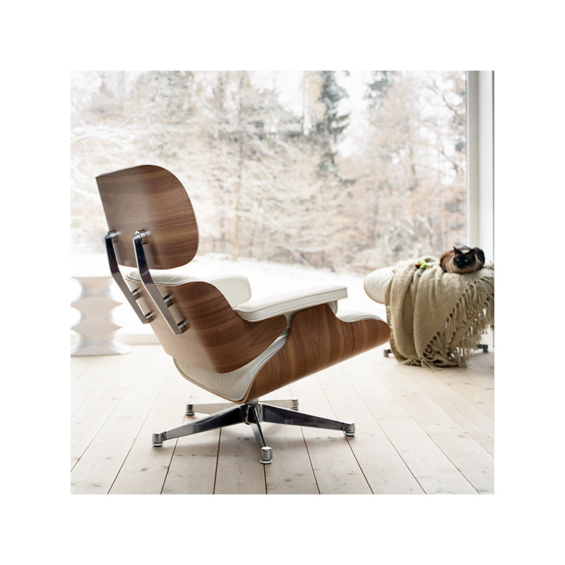 Sensational Vitra Eames Lounge Chair New Size Black Ash Black Creativecarmelina Interior Chair Design Creativecarmelinacom