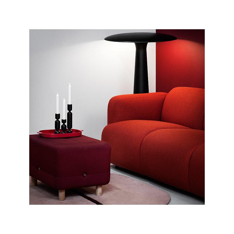 normann copenhagen lumberjack candleholder large black. Black Bedroom Furniture Sets. Home Design Ideas
