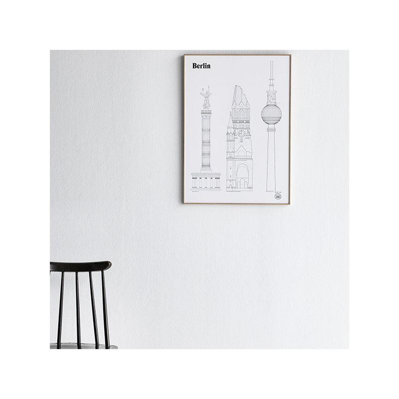 studio esinam berlin landmarks juliste finnish design shop. Black Bedroom Furniture Sets. Home Design Ideas