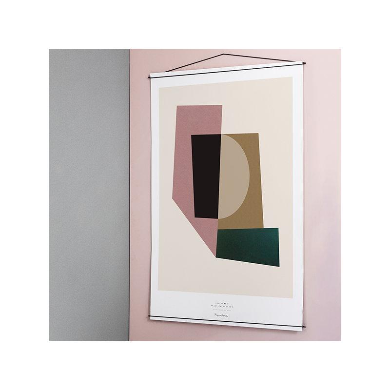 Moebe cornice per poster nera finnish design shop for Cornice poster 61x91