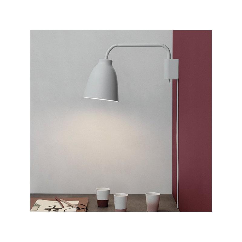Lightyears Lampada da parete Caravaggio Read, grigio chiaro  Finnish Design Shop
