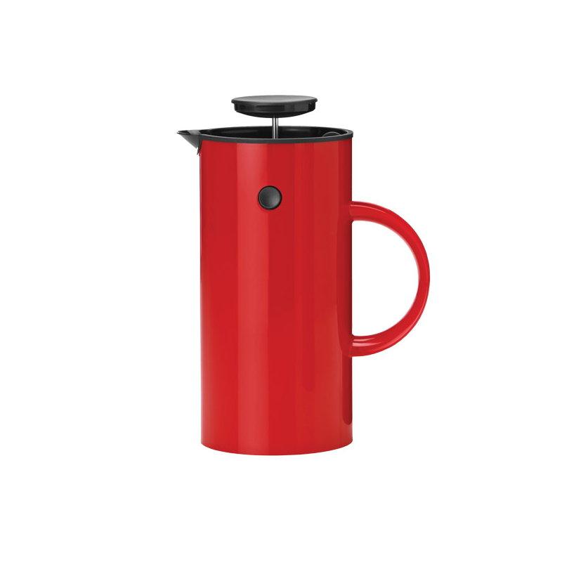 Best Coffee Maker Under Usd 80 : Stelton EM Press coffee maker, red Finnish Design Shop